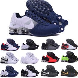2019 zapatos blancos abiertos de la boda de la perla Nike TN Plus shox air max airmax Shox Deliver 809 Men Air Running Shoes Drop Shipping Venta al por mayor Famoso DELIVER OZ NZ Zapatillas deportivas para hombre Zapatillas deportiva