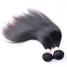 Canada Peruvian Cheap Hair Straight 5 Bundles 100% Extensions de cheveux non transformés de cheveux humains péruviens tisse 8-30 pouces de noir naturel cheap 18 inch peruvian weave black Offre