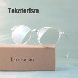 22878bcbdd1 Toketorism vintage female eyeglass frame clear lenses transparent glasses  for women 6042