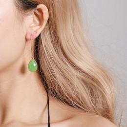 Geléia jóias on-line-Gota de Água Brinco Para As Mulheres Brincos Jóias para Presentes 2019 Simples Jelly Color Moda Cristais Brincos