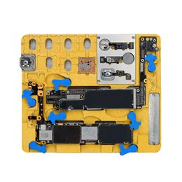 motherboards für iphone plus Rabatt MECHANIC 9 / MR9 Telefon Motherboard Layered Repair Fingerprint Repair Zinn Fixture PCB Halter für iPhone XR / 8 Plus / 8 / A12 / A11 / NAND