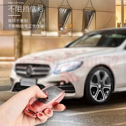 Llave del coche de TPU caso Shell cubrir se ajusta a Mercedes Benz 2017 E-Clase S-Clase W213 2018