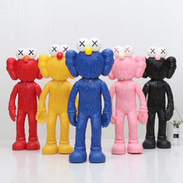 Figuras de desenhos animados de batman on-line-30 CM Vila Sésamo Kwas Bff Personagem de Ação Dos Desenhos Animados Figuras Pvc Brinquedos Presente Para Crianças