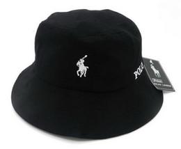 Caldo cappello di secchio lettera di moda per uomo Donna Cappuccio pieghevole di lana nero cappello pescatore da cappello di trilby grigio fornitori