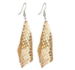 Orecchini pendenti con paillettes di gioielli con stelle nuove geometriche rotonde con brillanti pendenti con gemme per orecchini donne GB378 da orecchini della fringe dell'oro all'ingrosso fornitori