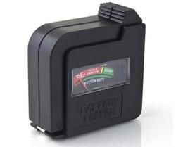 2019 batterie 1.5v d Vente chaude 1pc / Lot Noir Universel 9V C D 1.5V Pile Bouton Pile Volt Testeur Checker A3279 BZCe En Gros batterie 1.5v d pas cher