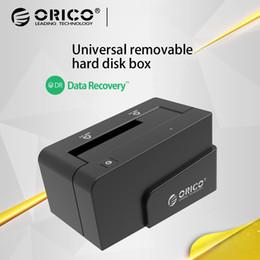 игрок sata Скидка ORICO 6618SUS3 2,5 / 3,5-дюймовый USB3.0 eSATA Универсальный последовательный портативный жесткий диск