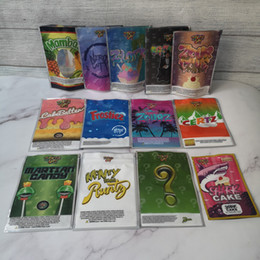 sacos ziplock vermelhos Desconto New piada de UP Runtz marciana doce CakeBatter Miami Zourz dinheiro Bagg Sharklato Gold Edition tubarão bolo seco Herb Flower sacos para embalagem de Mylar