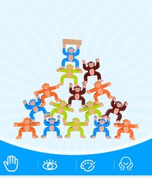 Ahşap Bulmaca Blokları Eğlenceli Oyuncaklar Sevimli Maymun Denge Blok Oyunu Çocuk El Göz Koordinasyonu Eğitim Denge Eğitim Oyuncaklar nereden