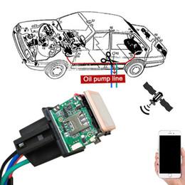 2019 fernleistungsmonitor Auto-Tracking-Relais GPS-Tracker-Gerät GSM-Locator-Fernbedienung Anti-Diebstahl-Überwachung Cut Off Oil Power System App günstig fernleistungsmonitor