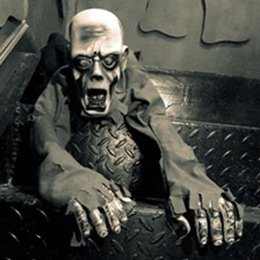 2019 giocattoli all'ingrosso del harry potter Halloween Party Tatuaggi Horror layout Crawling Fantasmi di voce giocattolo di controllo elettrico Glow Eye Crawling fantasma Haunted House Prop