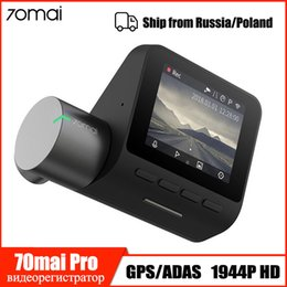 h 264 grabadora Rebajas Xiaomi 70mai Dash Cam Pro inteligente cámara del coche DVR 1944P Dash Wifi de la cámara de visión nocturna G-sensor 140 Ángulo Ancho automático grabadora de vídeo