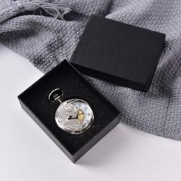 2019 caja de almacenamiento gris Accesorios para relojes Cajas de regalo de Navidad gris Casos Caja de almacenamiento de joyas de terciopelo Bolsillo 8 cm * 7 cm * 3,5 cm rebajas caja de almacenamiento gris
