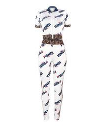 Tuta da tuta online-2019 New Tuta da donna 2 pezzi Set Outwear Sweatsuit Zipper a righe causale manica lunga Felpa + pantaloni lunghi Set da donna