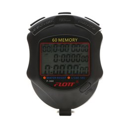 Argentina Nuevo Flott Cronómetro 60 memorias Cronógrafo digital temporizador profesional Electrónico de alta calidad Deportivo árbitro temporizador # 231888 supplier timer memory Suministro