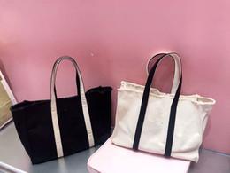 черный холст totes Скидка хорошее качество холст торговый корпус белый черный Толстый холст случае большая сумка женщин холст Wash Bag Косметические косметичку для хранения