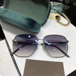 Nuevos modelos pequeños online-Nuevo diseñador de moda Little bee gafas de sol de montura completa modelo GG0464 gafas uv400 lentes de protección de alta calidad con caja original