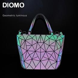 2019 imballaggio originale del telefono mobile DIOMO sac a main femme luxury Luminosa borsa geometrica 2019 da donna borsa a mano e messenger da donna fashion secchio femminile