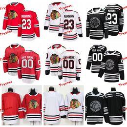ffd8b90ef 2019 Winter Classic Chicago Blackhawks Brandon Manning Stitched Jerseys  Customize Home Red Shirts 23 Brandon Manning Hockey Jerseys S-XXXL