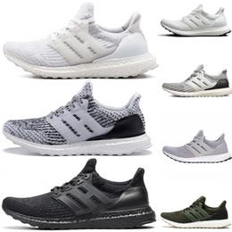 zapatos de hipebeast Rebajas Adidas ultra boost 3.0 4.0 Zapatillas deportivas zapatillas 3.0 4.0 Triple Negro Hombre Mujeres La mejor calidad Hypebeast Primeknit Core Negro Blanco Deportes deportivos descuento