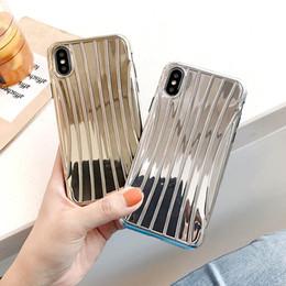 iphone luxus spiegel galvanisieren Rabatt Luxus tpu spiegel handy abdeckung hohe qualität goldene farbe telefon case galvanik softcover für iphone 7 8plus xr x max