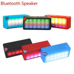 Canada Haut-parleur Bluetooth Style X3S avec lumière LED AUX FM Radio Subwoofer Mini haut-parleur sans fil TF Carte Microphone supplier x3s bluetooth speakers Offre