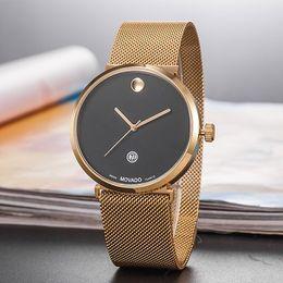 Date de la montre de strass en Ligne-Point chaud femme hommes Montre Casual Designer montre en or dames mode luxe Quartz strass Montre Relojes De Marca Mujer