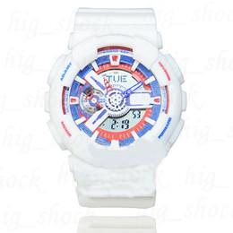 Hot Hot Hot New Color 110 montre homme, Sport double affichage GMT Numérique LED reloj hombre Militaire montre relogio adolescents ? partir de fabricateur