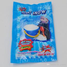 2018 Sihirli Kar DIY Anında Yapay Kar Toz Simülasyon Kar sihirli Prop Parti Noel Dekorasyon çocuk çocuk kız erkek hediye nereden