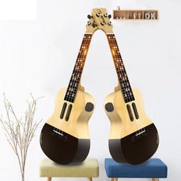 guitarra soprano ukulele Desconto Populele U1 Soprano Concerto Ukulele 4 Cordas 23 Polegada Acústico Elétrico Inteligente Guitarra de Xiaomi APP Telefone Guitarra Ukulele