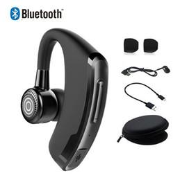 2019 billige einzelhandelstelefone P9 Business Bluetooth Kopfhörer Freisprecheinrichtung Drahtlose Ohrhörer mit Mikrofon Sprachsteuerung Bluetooth Headset