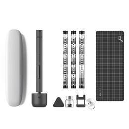 2019 hd-spionage-kameras Xiaomi Wowstick 1F + 64 in 1 Elektrischer Mini-Schraubendreher Dual Mode schnurlose Lithiumion Charge LED Power Schraubendreher-Kit für Telefon PC-Reparatur
