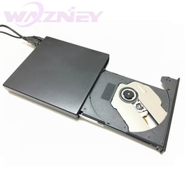 teléfonos con pantalla táctil resistiva Rebajas 20set / lot Grabadora grabadora de discos ópticos USB 2.0 USB-RW / CD-RW delgado delgado USB CD ROM ROM Combo Writer para tabletas PC