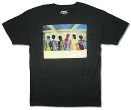 Freie gemälde online-Pink Floyd Zurück Katalog Album Art Skin Paintings Schwarzes T-Shirt Neues offizielles Baumwollt-shirt Mode-T-Shirt Freies Verschiffen