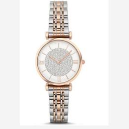 2019 le donne di cristallo pieno guarda Iced Out Watch Luxury Watches 1925 1926 1908 1909 Orologi Full AR Diamond Women Stainless Watches Orologio da polso da donna in cristallo Regalo di San Valentino le donne di cristallo pieno guarda economici