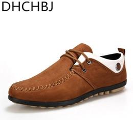 d8527b5926b 2018 primavera otoño hombres zapatos casuales Doug zapatos transpirables zapatos  de conducción para hombre cómodo barco nobuck de cuero   279958