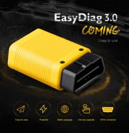 2019 connecteur opel 16 broches LANCEMENT X431 EasyDiag 3.0 Outil de diagnostic OBD2 Easydiag 3.0 plus pour Android / IOS OBDII Bluetooth mieux que l'easydiag 2.0