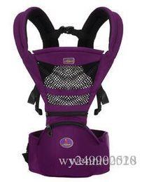 Frete grátis Portadores de Bebê Recém-nascido Transportadora Mochila Slings Criança Suspensórios Assento Crianças Cintura Fezes Tiras Infantil Mochila de