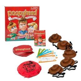 научный пакет Скидка Poopyhead Карточные Игры Игра, Где Номер 2 Всегда Выигрывает Семейный Праздник Весело Настольные Игры Хитрые Игрушки
