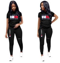2019 большое белое африканское кружево женщины футболка леггинсы спортивный костюм с коротким рукавом рубашки брюки 2 шт. Набор наряды пуловер колготки спортивная спортивный костюм бегун костюм 096