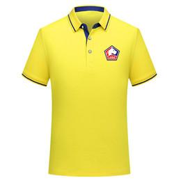 Футбол футбола онлайн-2018 2019 2020 Ligue 1 Lille Soccer Polo Shirt Men T shirt football shirts 2019 Лилль рубашки поло Джерси Пепе мужская рубашка поло