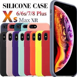 handy-abdeckungen für s4 Rabatt Für iphone 7 x silikonhülle flüssige silikonkautschuk fällen mit kleinkästen für iphone x 6 6s 7 8 plus se