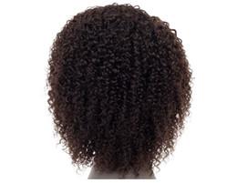 perruque de cheveux humains pour les femmes 100% brésilienne de cheveux humains 1b noir crépus bouclé remy brésilienne extension de cheveux humains ? partir de fabricateur
