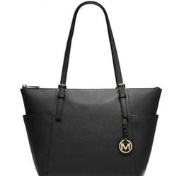 Großhandel 2019 Frauen Designer Plain Handtaschen Marke Taschen 5 Arten Farben Schulter Tote Clutch Bag PU Leder Geldbörsen Damen Taschen Brieftasche