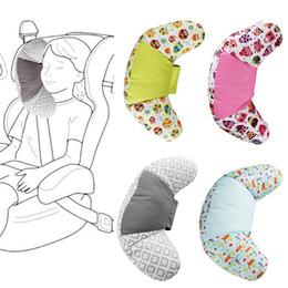 Almofada do pescoço dos miúdos on-line-Assento de carro Neck Pillow Neck Crianças Encostos Almofada sono apoio de cabeça Nap Proteção Almofadas Automobiles Acessórios Car OOA7529-4