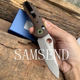 2019 meilleurs couteaux flipper 2019 551 nouveau couteau pliant CPM-20CV poignée de fibre de lin Camping couteau pliant complet usinage de précision CNC