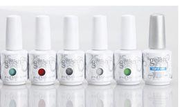 Polish gelish led online-gelish di alta qualità ammollo off gel uv led smalto per unghie vernice lacca armonia gelish spedizione gratuita