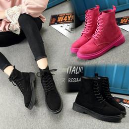 342218c5b48 botas rosadas de mujer como roma botines cortos zapatos marca chelsea dr  martins mujer encaje para acolchado doc western flat otoño grueso
