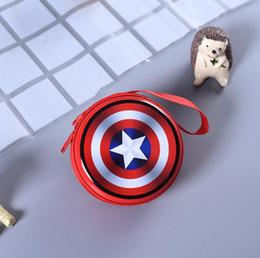 Argentina Kawaii Cartoon Silicon Coin Purse Super Hero Capitán América Anime Coin Bag Mini Carteras Auriculares Con Cremallera Titular de Regalo Niños Wallet Suministro