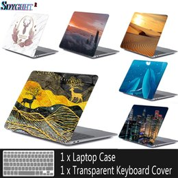 macbook air 11 inch keyboard case Coupons - New Laptop Case For MacBook Air Pro Retina 11 12 13 15 for mac 13.3 inch with Touch Bar Sleeve Shell+Keyboard Cover